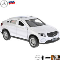 Diecast Car Scale 1:36 Mercedes-Benz GLE-Class Coupe Crossover SUV Russian Model