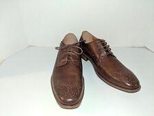 Steve Madden Men's Gable Tan Leather 8.5  Oxford LOT G