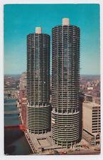 Vintage Postcard - Marina City, Chicago, Illinois