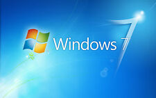 Windows 7 SP1 Home Premium 64 Bit - ISO File or DVD