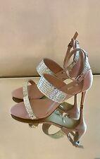 Kurt Geiger Carvela Nude Embellished High Heel Sandals Size 5 EU 38 RRP £125 New