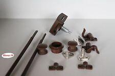 Möbelschloß Push Lock Schloß  braun  Möbelgriff  für Kleiderschrank 15mm