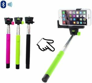 Extendable Telescopic Selfie Stick Monopod For Camera Mobile Phone - Black