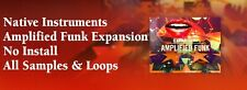 Native Instruments Amplified Funk Expansion Samples & Loops No Install