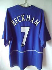 BECKHAM !!! 2002-03 Manchester United Third Shirt Jersey Trikot XL
