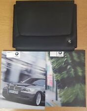 GENUINE BMW 3 SERIES SALOON EN HANDBOOK MANUAL WALLET 2006-2010 PACK E-77