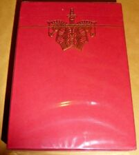 RED KNIGHTS Deck Of Playing Cards By Ellusionist's Chris Ramsey BRAND NEW