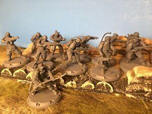 DUST Tactics 1947 Axis Ten Figure Lot !