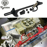 Billet Aluminum Throttle Cable Carb Bracket Holley 4150 4160 Carburetor 350 New