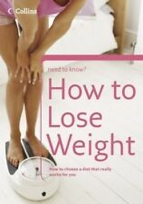 New, How to Lose Weight (Collins Need to Know?), Michael, Christine, Book