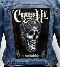 CYPRESS HILL - Los Grandes Éxitos En Español --- Giant Backpatch Back Patch