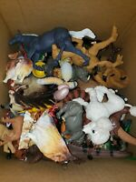 Kid Toy Animal , Dinosaur , Pets and Zoo Animals Figure Model Mix Lot 6+ Pounds