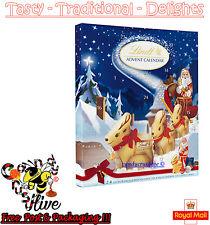 Navidad Lindt Chocolate Calendario de Adviento Navidad Santa cuenta regresiva Niños Diversión 160g