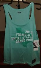 Formula 1 Grand Prix Womens super soft Tank Top NWT REG $30 Texas XL