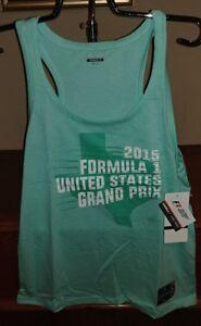 Formula 1 Grand Prix Womens super soft Tank Top NWT REG $30 Texas Medium