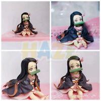 Demon Slayer: Kimetsu no Yaiba Q Ver. Kamado Nezuko PVC Action Figure Model Toy