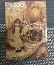 ANTIQUE DOLL IN LACE 500 PIECE JIGSAW PUZZLE VINTAGE 1991