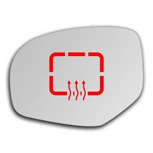 Suzuki Swift 2010 - 2017 Left Side Clip On Heated Mirror Glass 0368LSHP
