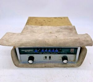 Rare Heathkit Gr-110 General Coverage Receiver VHF Scanning Monitor