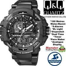 Q&Q Men's Diver Adult Wristwatches