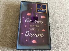 Bnib Aroma Home Hot Water Bottle & Lovely Cover - Everything Starts With A Dream