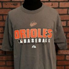 Baltimore Orioles MLB Gray T-Shirt Men's Size Large