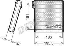Verdampfer, Klimaanlage DENSO DEV09103 für FIAT