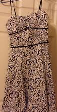 Ruby Rox Navy & White Summer Dress Size 7