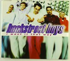 Maxi CD - Backstreet Boys - I Want It That Way - A4291