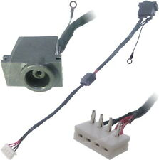 Samsung NP350V5C-S01RS Dc Jack Power Socket Port Connector with CABLE Harness