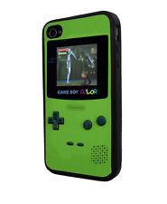 Nintendo Gameboy Super Mario Zelda iPhone case black rubber different Phone mode