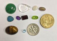 GEMSTONE COLLECTION Opal Garnet Amethyst Topaz Peridot Quartz etc (#L6621)