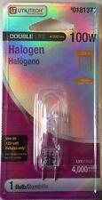 Utilitech / Feit Electric 100-Watt 120-Volt Gy8.6 Halogen B-Pin Light Bulb - New