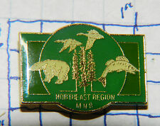 CANADA, NORTHEAST REGION MINISTRY OF NATURAL RESOURCES METAL HAT LAPEL PIN