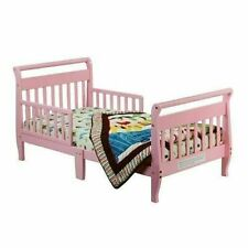 Dream On Me Sleigh Toddler Bed, Pink