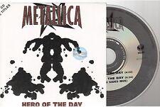 METALLICA hero of the day CD SINGLE card sleeve