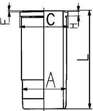 CYLINDER LINER SLEEVE KOLBENSCHMIDT 89 820 110