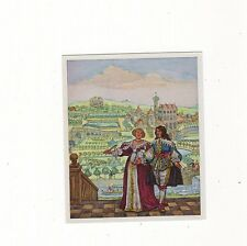 12/148 SAMMELBILD BRAUCHTUM LIEBE/ LUSTWANDLER IM SCHLOßGARTEN (Zeit 1610-1640)