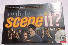 Scene It? Twilight Movie Trivia Game Factory Sealed Mattel Games Movie Clips DVD