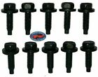 Ford Lincoln Mercury Body Fender Frame Factory Correct 14-20 Bolt Bolts 10pcs A