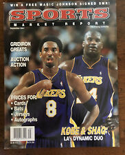 Sports Market Report Magazine - KOBE BRYANT & SHAQ - Sept 2001