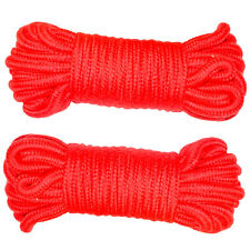 2 PACK Red Soft Rope for Bondage/Restraint/Japanese Shibari/BDSM/Adult 36FT/11M