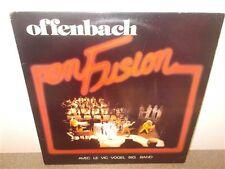 Offenbach . En Fusion . Vogel . Boulet . Quebec . Canadian Heavy Rock Blues . LP