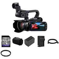Canon XA10 64 GB Camcorder + 2 Batteries, 32GB SD, Quick Charger + More