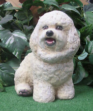 Bichon Frise Maltese Dog Puppy Latex Fiberglass Production Mold Concrete Plaster