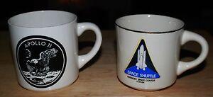 Apollo 11 Neil Armstrong & Kennedy Space Shuttle Center Florida (2) Mugs/Cups