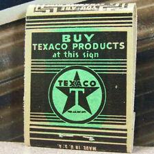 Vintage Matchbook S6 Texaco Woodruff Wisconsin Bill Bob's Hunting Fishing Bait