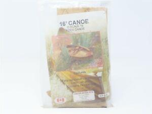 O Scale Osborn Model Kits #2006 16' Canoe