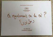 Dossier de Presse ET MAINTENANT ON VA OU Nadine Labaki  *d