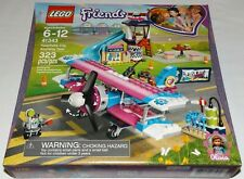 LEGO 41343 Friends Heartlake City Airplane Tour Olivia propeller biplane airport